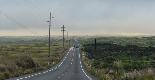 Highway 190  the way to Mauna Kea