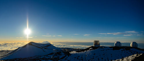 Keck Observatory Mauna Kea Hawaii