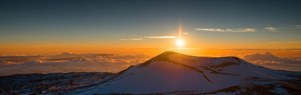 Sunset on Mauna Kea Hawaii